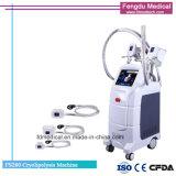 Máquina de congelación gorda no quirúrgica de Cryolipolisis con 4 manetas de Cryo