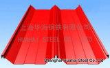 Strati d'acciaio ondulati galvanizzati preverniciati del tetto