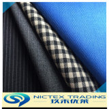 Tissu de laine peignée, de la laine convenant, tissu polyester tissu de laine
