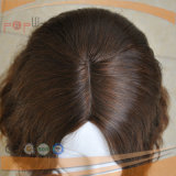De hoge Pruik van het Haar van de Huid van het Eind Hoogste Europese (pPG-l-0462)