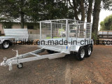 10X5 Galvanised Tandem Box Trailer