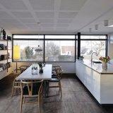 Европейский дизайн салона пол и стены плиткой (ОТА604-угля)