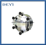 D450mm 스테인리스 손잡이 압력 원형 맨홀 뚜껑