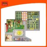 柔らかい演劇のゲームのいたずらな城はおもちゃの遊園地装置の屋内運動場をからかう