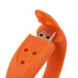 卸し売り昇進のギフト32GB USBの棒によってカスタマイズされるロゴのブレスレット