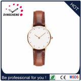 Marken-beiläufige lederne Uhr-Männer Dw Luxuxuhr (DC-473)