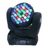 LEDのビーム効果のイベントライト36X3w RGBWクリー族LEDの移動ヘッド