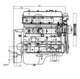 33kw 45HP Ce keurde de Duurzame Dieselmotor van Quanchai goed 4102D