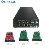 10G SFP+ Ethernet Fast Ethernet fibre optique de convertisseur de médias