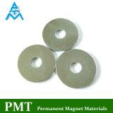 Platten-Magnet der Schleifen-D32*8.5*2.5 mit NdFeB magnetischem Material