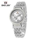 El lujo urbano de las mujeres de Belbi mira los relojes del asunto del diamante 6-Pin