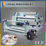 ロールテープ、ラベル、ペーパー、泡は、自動切り開く巻き戻す機械を撮影する