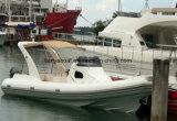 Liya 27 pies de longitud lujosos barcos inflables barco Rib