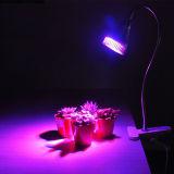 По мере роста растений лампа PAR 5 Вт Светодиодные лампы по мере роста с помощью прибора Clip