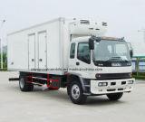 El alimento de Isuzu restaura el carro 4X2 del transporte carro del refrigerador de 8 T