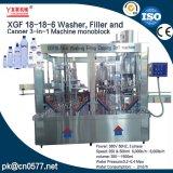 殺菌剤のためのXgf18-18-6洗濯機、注入口およびふた締め機機械Monoblock