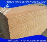 peuplier de pouce 4X8/contre-plaqué film publicitaire de bouleau/bois de construction d'eucalyptus/pin
