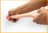 Het realistische Kunstmatige Stuk speelgoed Dildo van het Geslacht van de Penis van het Silicone van de Penis Rubber voor de Penis van de Mannen van Vrouwen