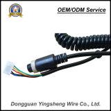 Kabel van uitstekende kwaliteit van de Lente van de Kabel Pur van de Lage Prijs TPU de Spiraalvormige