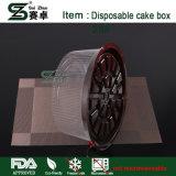Bolinho descartáveis/Cupcake recipientes plásticos com divisores 12