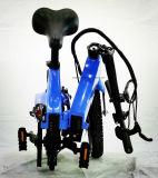 クイックリリース電池とFoldable 25km/H速度3Dの鍛造材Ebike
