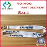 Quality Customized Logo Tubular Screen Printed Safety Lanyard (KSD-947)