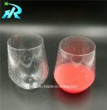 taza de café de cristal plástica de la prueba de vino de 12oz Tritan