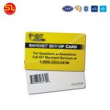 O PVC impermeável de PETG SNF cartão com código de barras