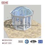 庭の屋外のガラス部屋のためのSunroomsのガラス家