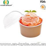 16oz Helado de papel desechables recipiente con tapa de plástico (16 oz-2)