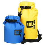 Pacchetto impermeabile dell'oceano del sacchetto asciutto di marchio della tela incatramata esterna su ordinazione del PVC