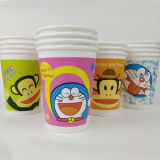 Cheap 12oz Vaso de papel desechables de dibujos animados