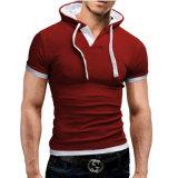 2017 marque la mens Polo shirt Polo Short-Sleeve solide hommes Polo Homme Slim Camisas Mens vêtements le phoque à capuchon Camisa Polo Shirt XXXL