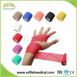 Suministro de la fábrica Flexible cohesivas vendas de los dedos el deporte en el bajo precio