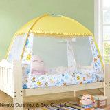 Foldable 아기 침대 모기장에는 부류를 가진 기초가 있다