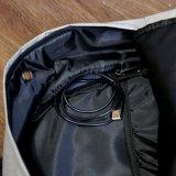 新しく熱い販売のカスタム学校のコンピュータ旅行安いキャンバスのバックパック袋