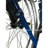 Ручная сталь, расчалки двойного креста, колесо спицы быстро отпуска, автошина PU, кресло-коляска экономии