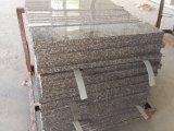 Mattonelle dentellare Polished/naturali del granito G664 per il pavimento/controsoffitto