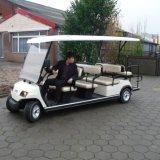 11 Personen-Batterie-besichtigenauto mit faltbarem zusätzlichem Sitz