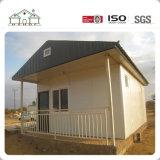 Mozambique modificó la casa prefabricada estándar del chalet para requisitos particulares del hogar modular