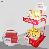 Retail Shop를 위한 최신 Sale Milk Wire Plate Display Rack