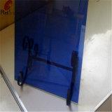 建物および装飾のための濃紺の塗られたガラス
