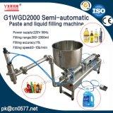 Halfautomatisch Deeg en Vloeibare het Vullen Machine voor Vruchtesap (G1WGD2000)