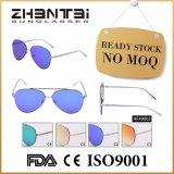 Nenhuns óculos de sol conservados em estoque prontos do espelho da forma de MOQ para unisex (HFX0003)