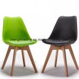 방석을%s 가진 가구 너도밤나무 나무 다리 PP 플라스틱 의자