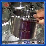 3A 304/316L санитарные разъем с обжимным кольцом из нержавеющей стали