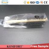 Brosse à cheveux personnalisé de gros peigne Brosse à cheveux en bois FSC avec boîte de PET
