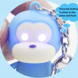 Милая маленькая обезьяна с вокальным и внезапным пластичным Keychain