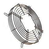 La precisione ha saldato la griglia d'acciaio della protezione del ventilatore del motore con il PVC ricoperto