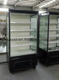 플러그 접속식 압축기 슈퍼마켓 전시를 위한 열려있는 Multideck 냉장고